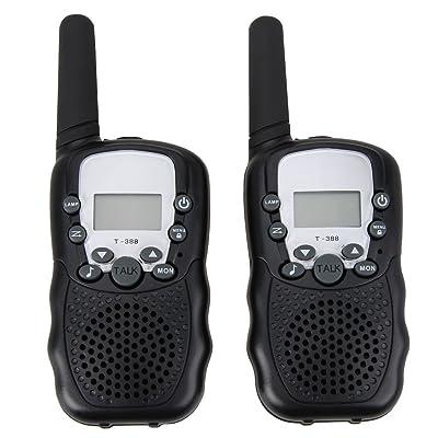 Cikuso Walkie Talkies Gemelos de 8 Canales UHF400-470MHZ Radio de 2 vias 3Km Alcance: Electrónica