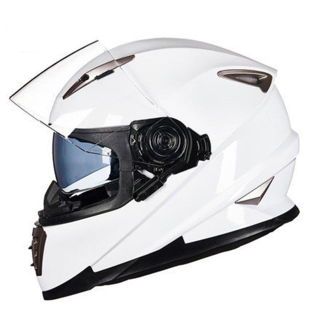 RAQ Sturzhelm im Freienart- und weisehelm ABS-Leichtgewichtler-Motorrad-Fahrrad-Sturzhelm-Sonnenschutzsicherheitsatmungsaktiver vierjahreszeiten-Sturzhelm (Farbe   D, größe   XL(58CM-60CM))