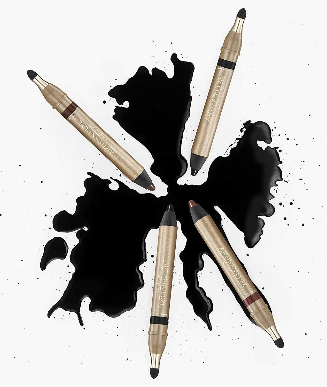 Amazon.com: Lápiz delineador de ojos Artisan L'uxe Beauty Velvet Jumbo –  Smokey Eyes en 3 minutos – resistente al agua, a prueba de manchas, de  larga duración – aceites esenciales antiedad –