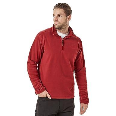 New Brasher Men's Bleaberry Half Zip Fleece