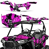 Polaris RZR900 Trail 2015-2016 UTV Graphic Kit Decal Sticker Wrap RZR 900 REAPER PINK