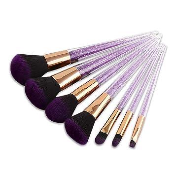 7b0172801192 BBL 7Pcs Makeup Brush Set professional Foundation Blending Highlighting  Powder Liquid Cream...