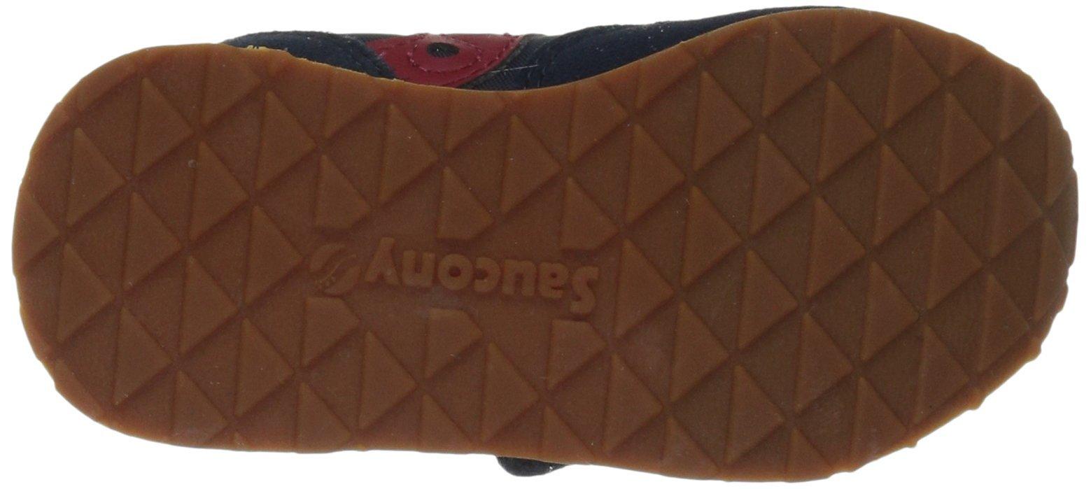 Saucony Jazz Hook & Loop Sneaker (Toddler/Little Kid), Navy/Red, 12 M US Little Kid by Saucony (Image #3)