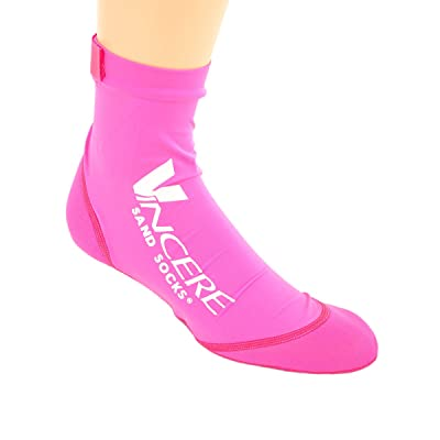 Vincere Grip Socks Soft-Soled Beach and Boat Socks: Clothing