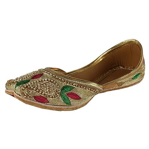Saashiwear - Mocasines mujer , color Dorado, talla 26 cm: Amazon.es: Zapatos y complementos