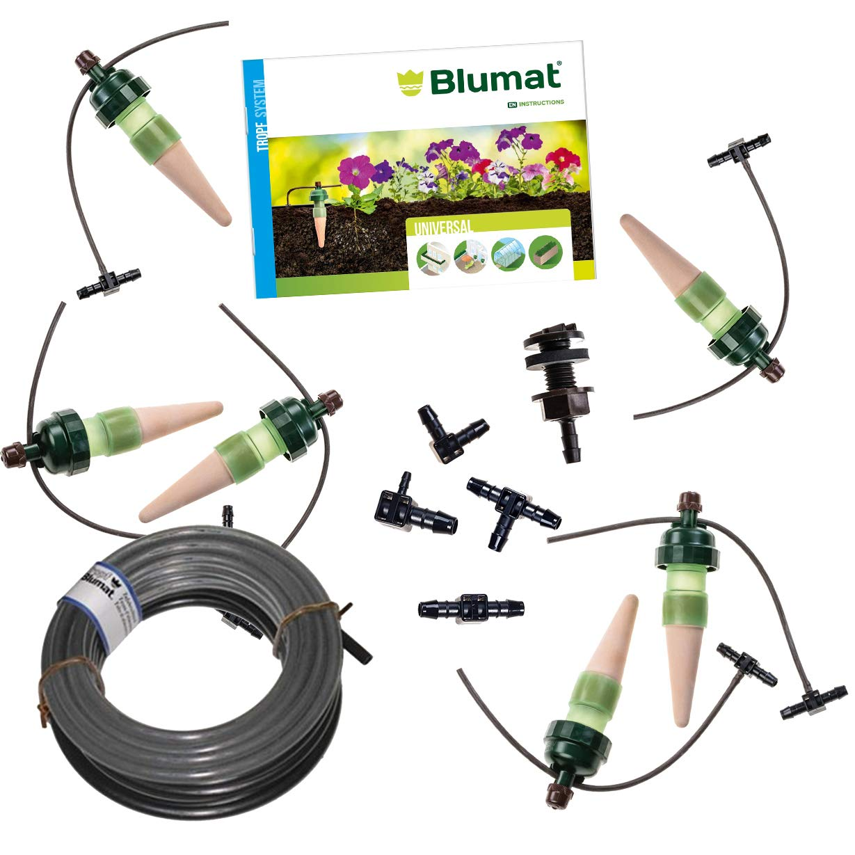 Tropf-Blumat IG15654 Deck and Planter Box Kit, Small by Tropf-Blumat