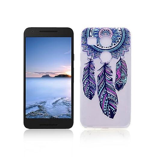 50 opinioni per Cover LG Nexus 5X Custodia TPU Silicone OuDu Cover LG Nexus 5X Cassa Gomma Soft