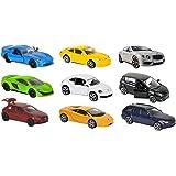 212053241–Majorette Square Pack de 9Cars, avec voitures, 7,5cm Neuf