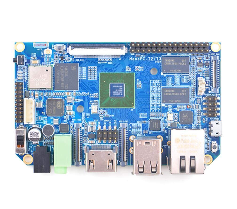 Taidacent A53 Eight Core S5P6818 Electronic Board Ubuntu Android WiFi Bluetooth Development Board Module NanoPC T3