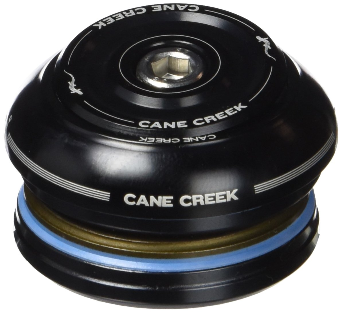 Cane Creek 40-Series Integrated Short Cover Complete for 42mm Head-Tube (1-1/8-Inch Straight Steerer), Black