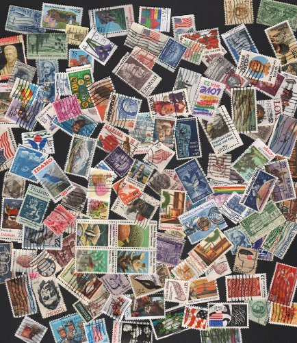 (125 NICE MIX OFF PAPER ~ STAMP COLLECTING!! U.S. POSTAGE STAMPS ~ 125 NICE MIX USED STAMPS (WITH A FEW EXTRA) READY TO PUT IN YOUR ALBUM)