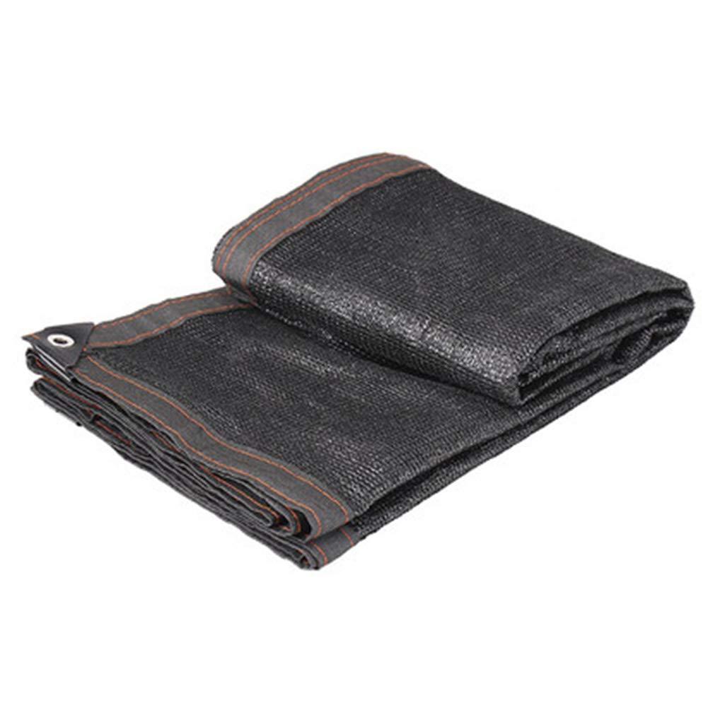 Noir 4x5m ZHAOXIANWEI Filets d'ombrage de Camping Soleil bÂche de Tente poussière Nette (Couleur   Noir, Taille   5x6m)