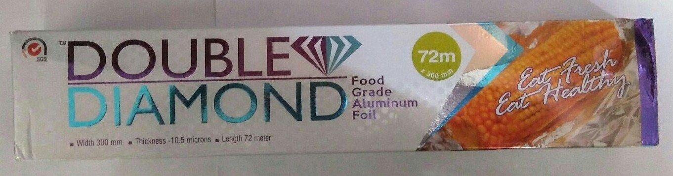 e4d510de9338 DOUBLE DIAMOND ALUMINUM FOIL 72 M 300MM  Amazon.in  Health   Personal Care