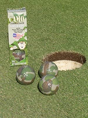 Camouflage Golf Ball