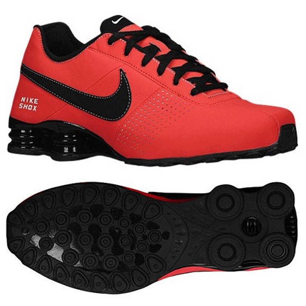 best sneakers 93103 ec13a Nike Shox Deliver 317547-611 Light Crimson White Black Men s Running Shoes  (Size 12)  Amazon.co.uk  Shoes   Bags