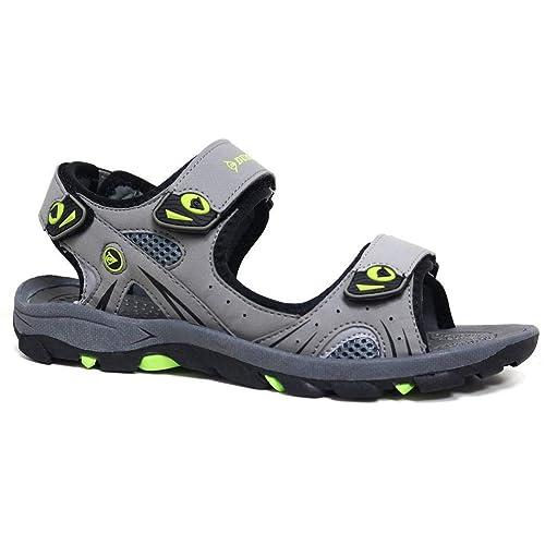 ce87d312339c Dunlop - Sandalias de Vestir de Sintético para Hombre Negro Negro 41 ...