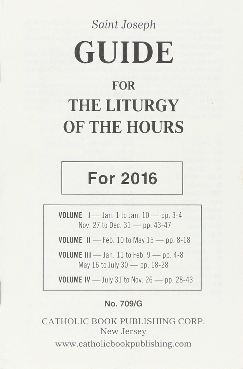 guide for the liturgy of the hours catholic book publishing corp rh amazon com liturgy of the hours guide online liturgy of the hours guide print