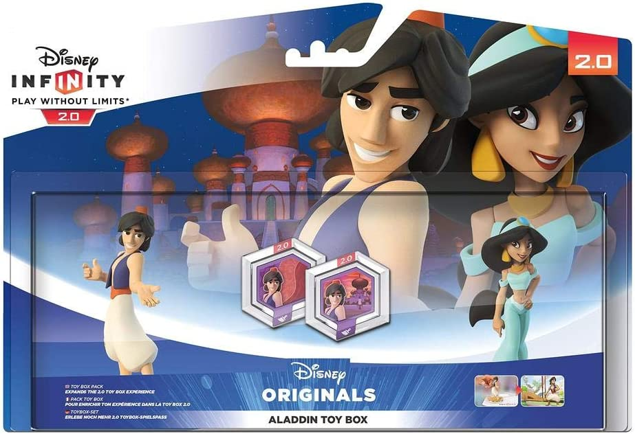 Disney Infinity 2.0 - Toy Box: Aladdin Pack: Amazon.es: Videojuegos
