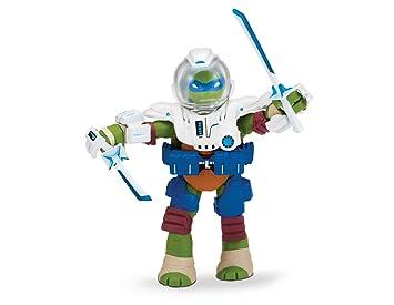 Figura Tortugas Ninja Dimensión X Leonardo Acción: Teenage ...