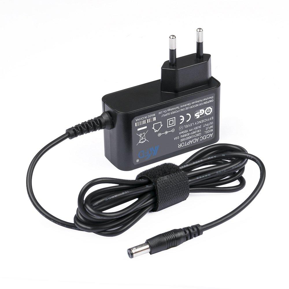 KFD AC 100-240V DC 24V 1.5A Fuente de alimentación universal Adaptador Cargador 5.5mm: Amazon.es: Electrónica
