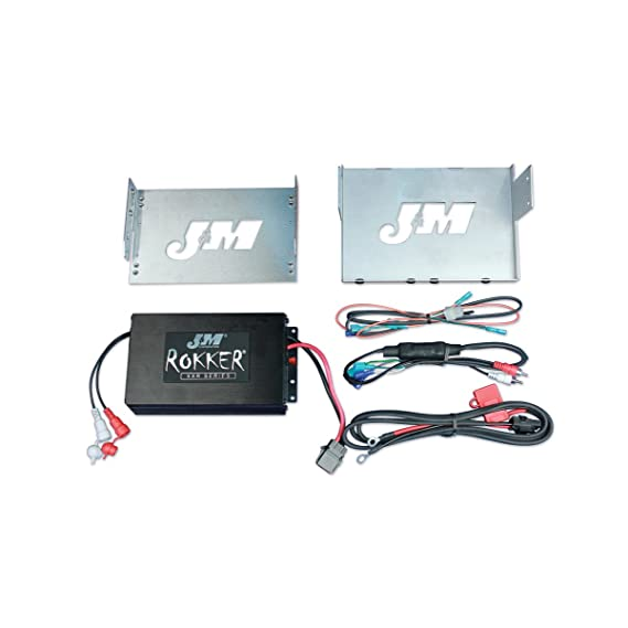Amazon Com J M Audio Rokker 330 Watt 2 Channel Amplifier Kit For