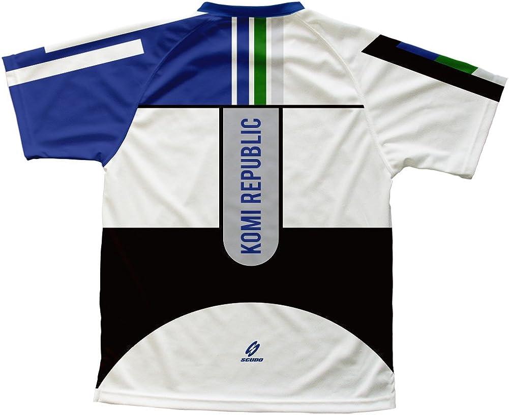 ScudoPro Komi Republic Technical T-Shirt for Men and Women