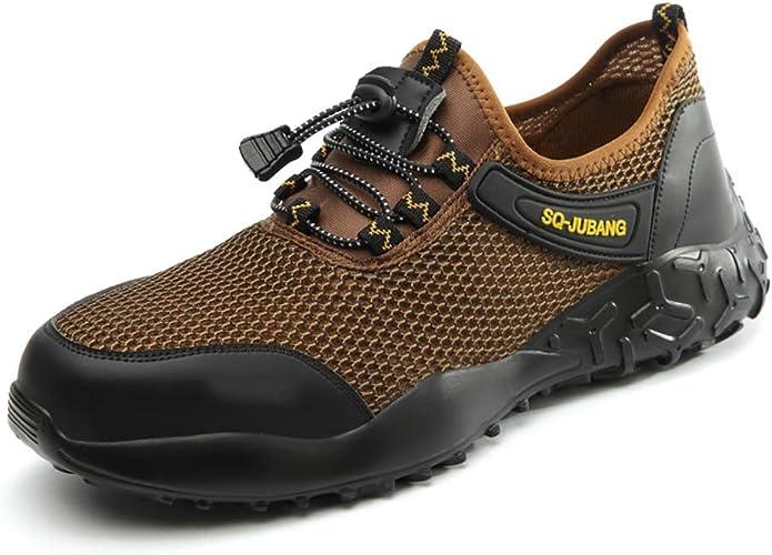 Chaussures De Sécurité Au Travail Pour Hommes Embout En Acier Anti-crevaison