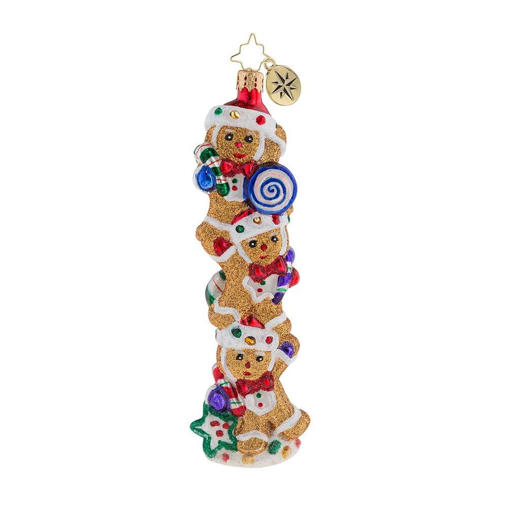 Christopher Radko Gingerbread Balancing Act Christmas Ornament