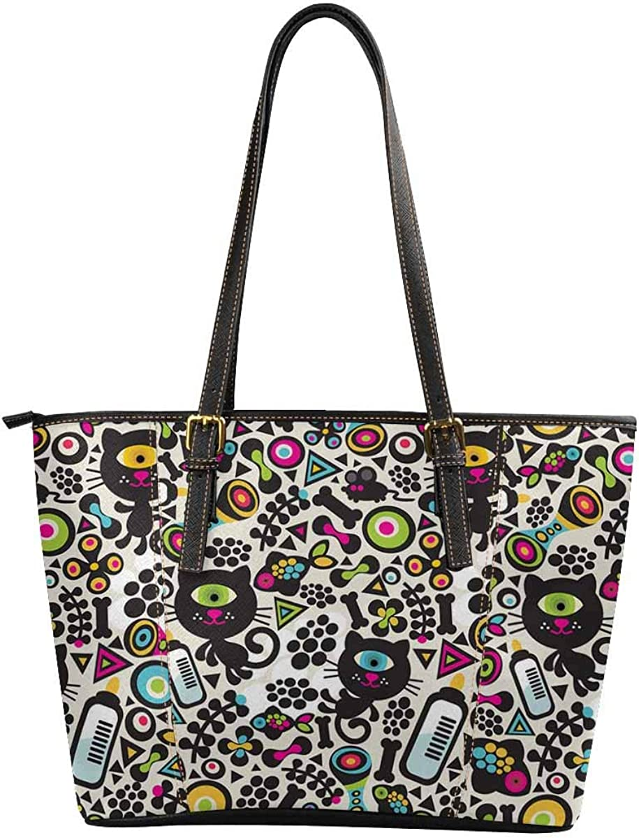 InterestPrint Women Tote...