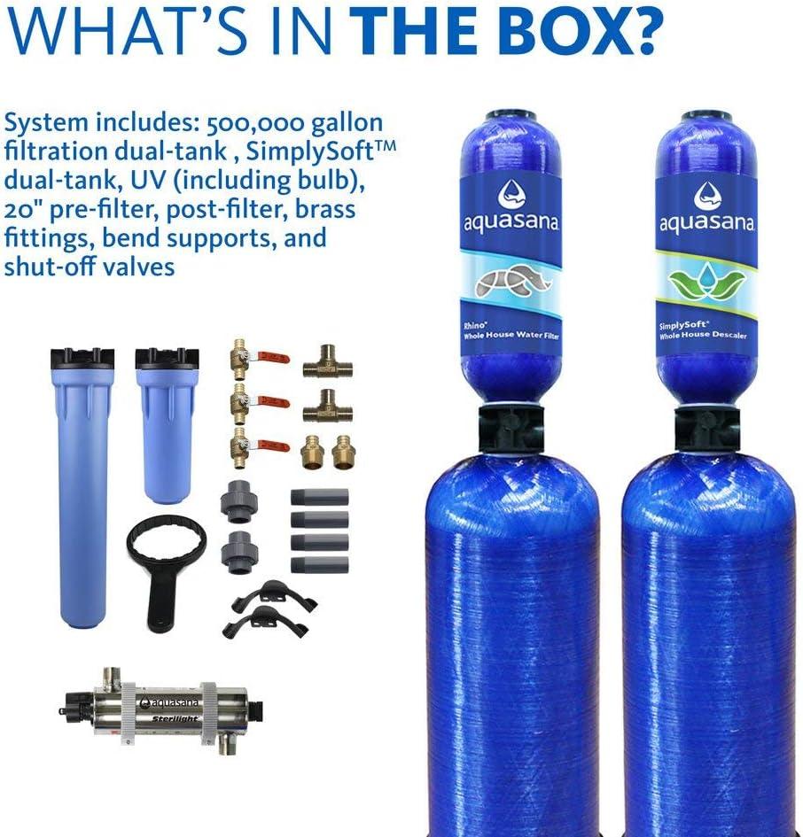 Aquasana EQ-WELL-UV-PRO-AST Water Conditioner