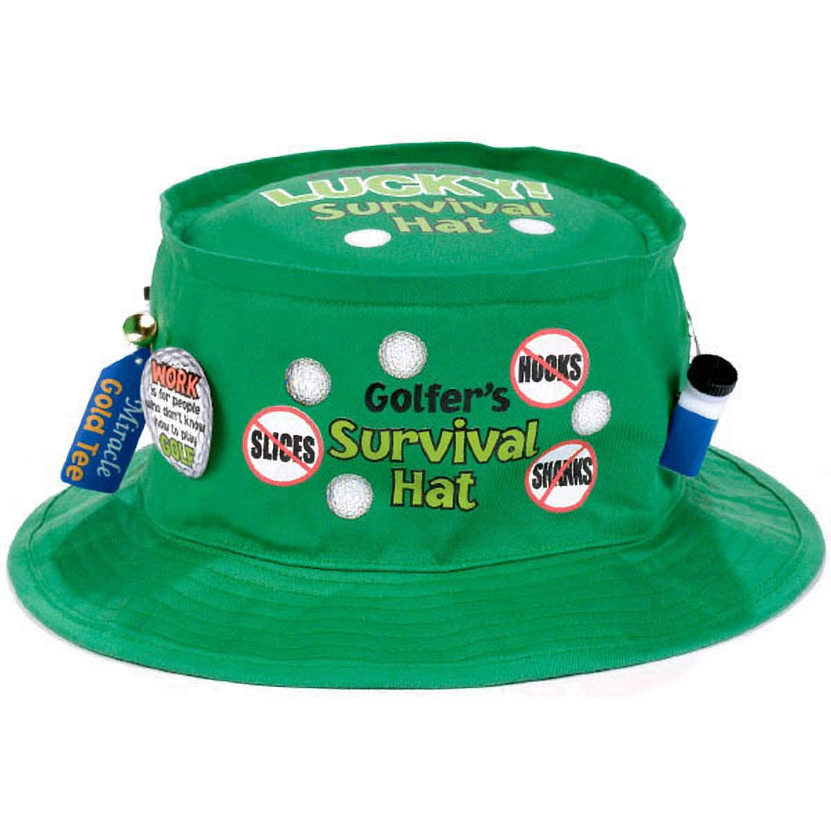 6 Ct. Amscan Golfer Survival Hats