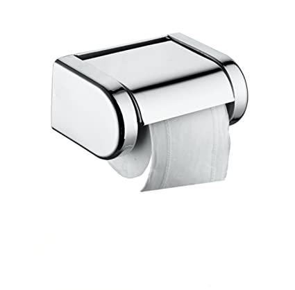 Portarrollos acero inoxidable papel higiénico pared rollo sala baño dispensador etanche