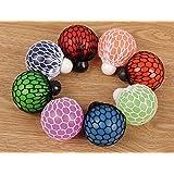 Stress Fidget Relief Squeeze Grape Vent Ball Toy Soft Rubber Hand Toy Random Color