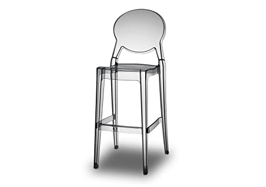 Sgabelli trasparenti: bellelli design sedie trasparenti lucienne con