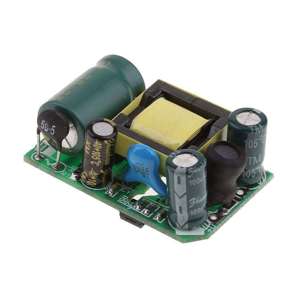 Baoblaze 220v à 12v Ac-dc 12v 0.5a 6w Module D'alimentation à Découpage Convertisseur AC Carte De Convertisseur