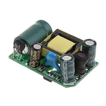 M/ódulo de Fuente de Alimentaci/ón Conmutaci/ón Aislamiento Alto bajo voltaje 220V a 12V AC-DC 12V 0.5A 6W