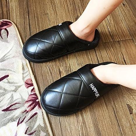 LaxBa Invierno patinar en zapatillas piel falsa nieve forrada caliente Zapatos para hombres negro 40/41: Amazon.es: Deportes y aire libre
