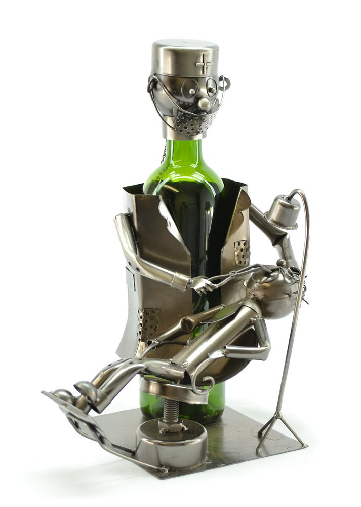 GIFTS PLAZA (D) Wine Bottle Holder, Dentist, Bar Counter Decoration by GIFTS PLAZA