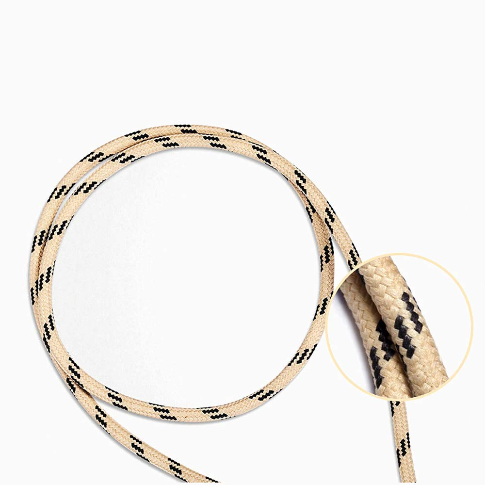 Golden BMANI Phone Charger Durable Nylon USB Data Cable
