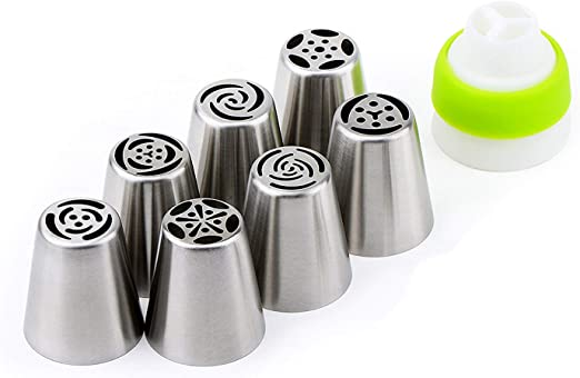 Piping Icing Leaves Icing Piping Nozzle Stainless Steel Cake Decorating Tool