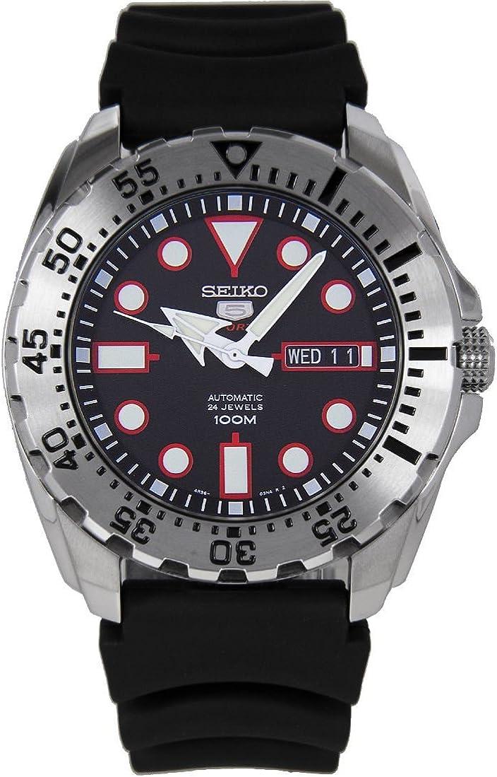 Reloj Seiko Seiko 5 Srp601k1 Hombre Negro
