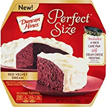 Duncan Hines Perfect Size Cake Mix, Red Velvet Dream, 9.4 Ounce