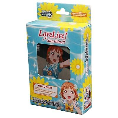 Weiss Schwarz LOVE LIVE! SUNSHINE!! Trial Deck English: Toys & Games