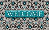 Toland Home Garden Heart Paws Welcome 18 x 30 Inch Decorative Animal Floor Mat Puppy Dog Doormat