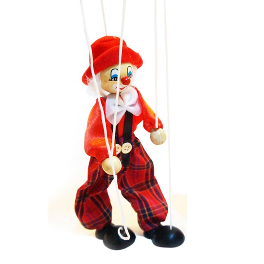 Ashdown Interesting Clown Marionette Puppet Good Gift for Baby