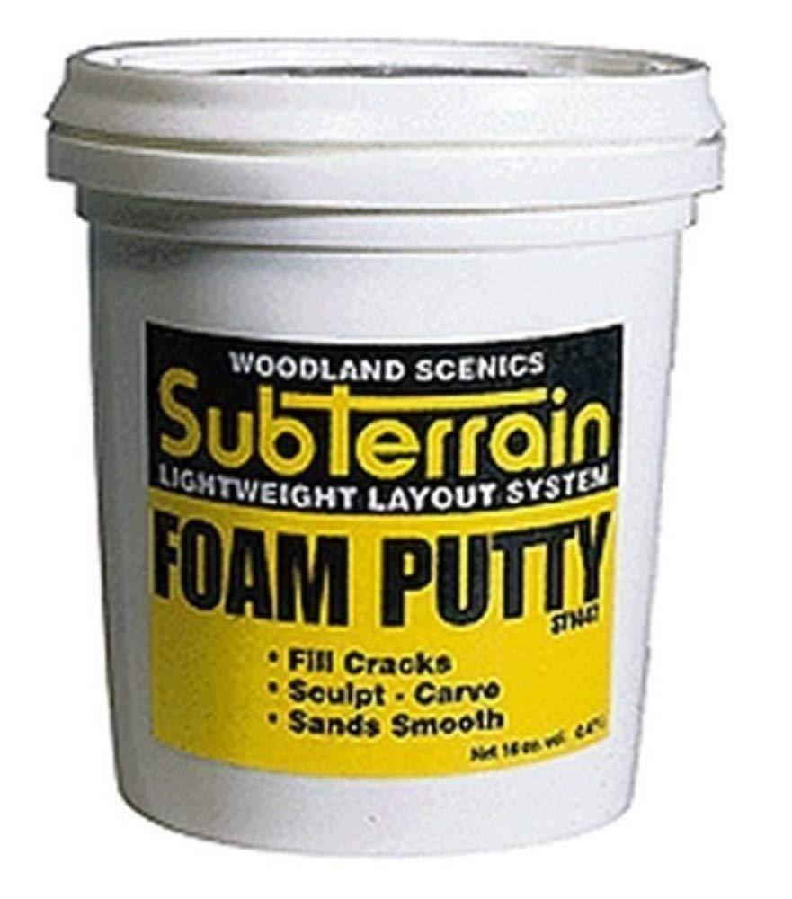 Horizon Hobby Woodland Scenics Foam Putty, Pint WOOST1447