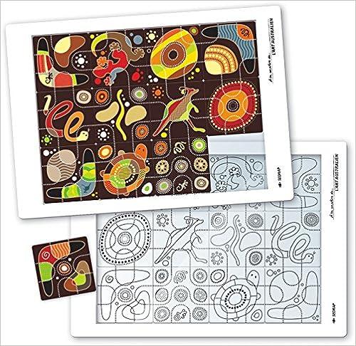 A la manière de l'art australien Tous niveaux (le puzzle) pdf, epub