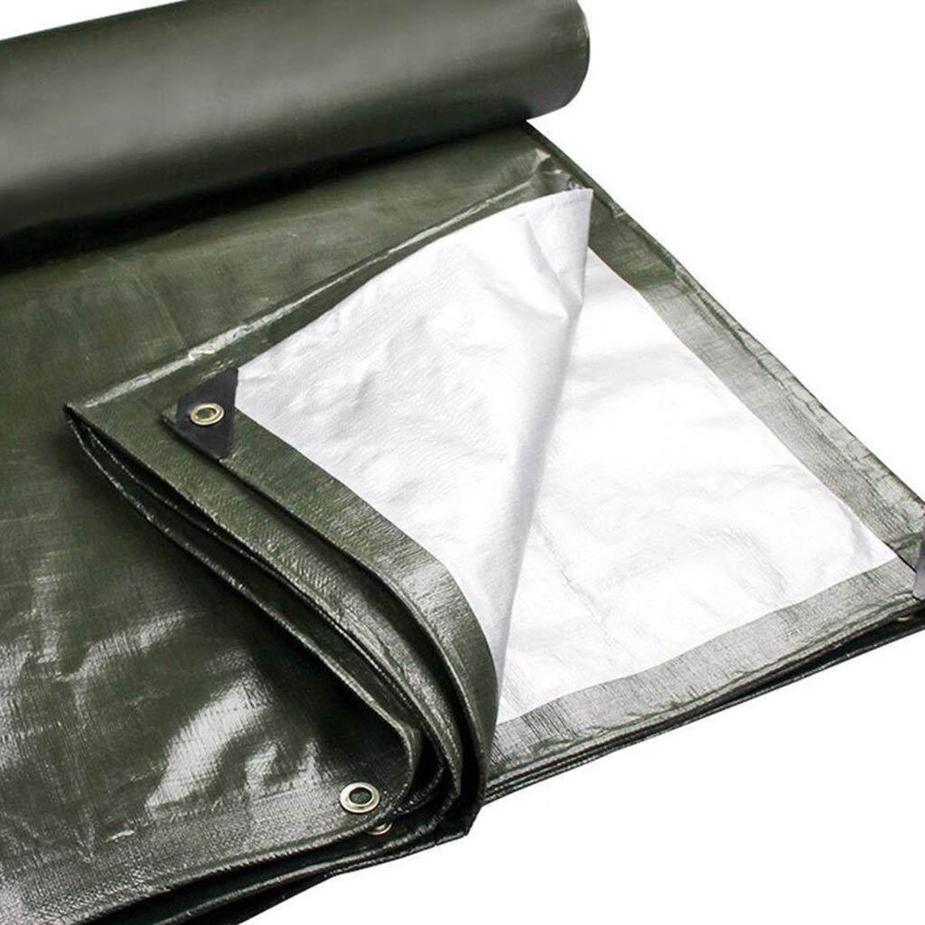 Zeltplanen Verdicken Sie Wasserdichten Sunscreen Plane Rainproof Tuch Dreirad Auto LKW Farbstreifen 3x3m - Multi-Größe-Optionen (größe   5x6m)