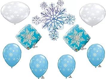Amazon.com: Frozen Invierno Cluster Fiesta Decoración de ...