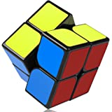 VFunix スピードキューブ2×2 ステッカー ver.2.0 世界基準配色 競技用 収納ポーチ付き 脳トレ 立体パズル